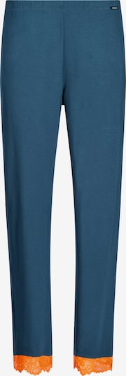 Skiny Панталон пижама в синьо / оранжево, Преглед на продукта