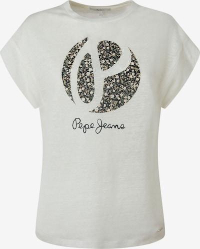 Pepe Jeans Shirt in dunkelgrau / grün / weiß, Produktansicht