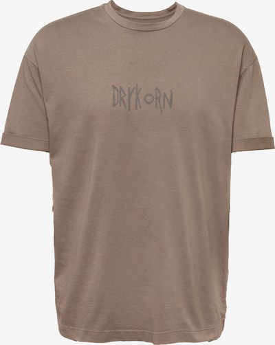 DRYKORN Shirt 'DRYKORN x ABOUT YOU THILO_CONSCIOUS' in de kleur Bruin, Productweergave