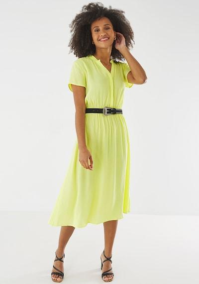 MEXX Kleid in pastellgelb, Modelansicht