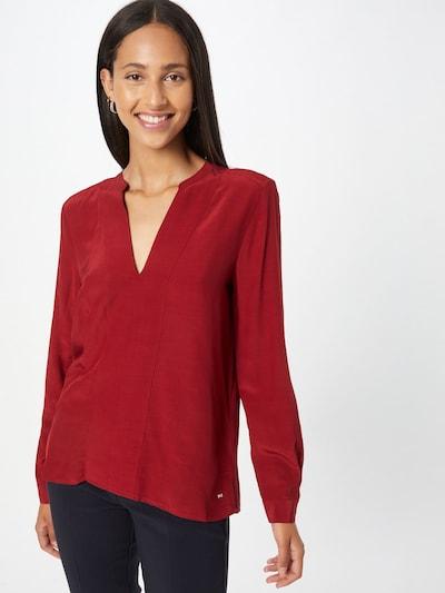 TOMMY HILFIGER Bluse in rot, Modelansicht