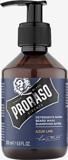 Proraso Beard Shampoo ' Azur Lime Bartreiniger' in Navy / Cognac / Black / Silver, Item view