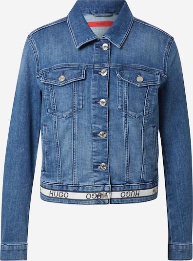 HUGO Jacke 'Alex' in blue denim / weiß, Produktansicht