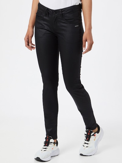 Gang Hose 'GIOIA' in schwarz, Modelansicht