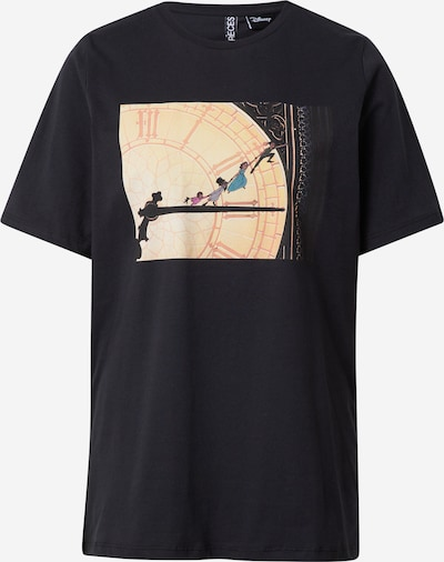 PIECES T-Krekls 'PCKOSMIC SS TEE BC', krāsa - melns, Preces skats
