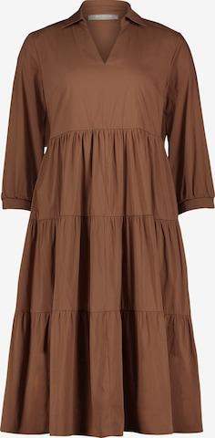 Betty & Co Casual-Kleid mit 3/4 Arm in Braun