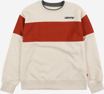 LEVI'S Sweatshirt in Beige