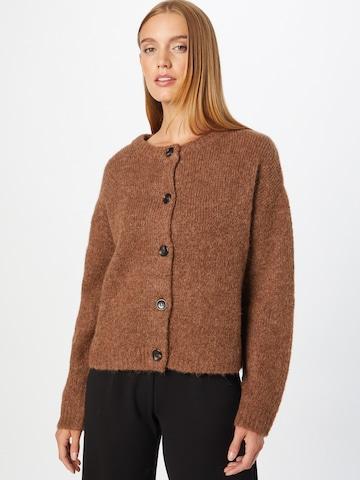 2NDDAY Knit Cardigan 'Aurora' in Brown