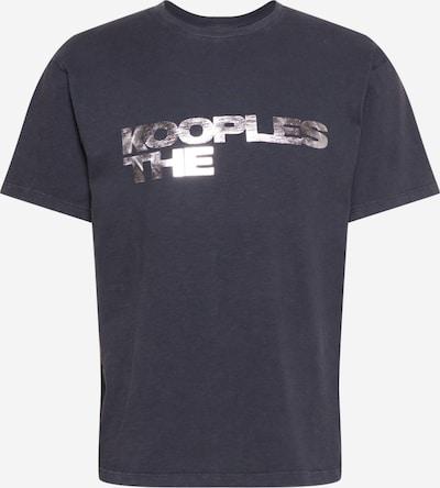 The Kooples Koszulka w kolorze czarny / srebrnym, Podgląd produktu