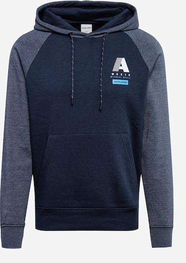 JACK & JONES Sweatshirt in navy / blaumeliert, Produktansicht