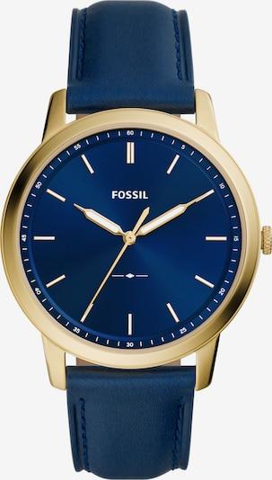 FOSSIL Analógové hodinky - tmavomodrá / zlatá, Produkt