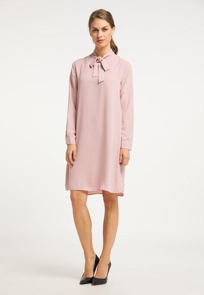 Rochie tip bluză usha BLACK LABEL pe roz, Vizualizare model
