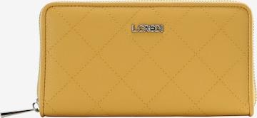 L.CREDI Brieftasche 'HERRA' in Gelb
