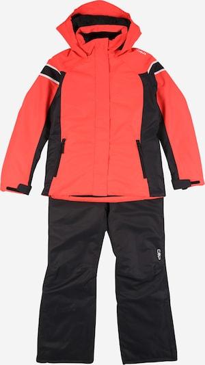 CMP Sportanzug in rot / schwarz, Produktansicht