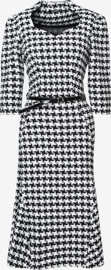 Madam-T Etuikleid 'Luna' in schwarz / weiß, Produktansicht