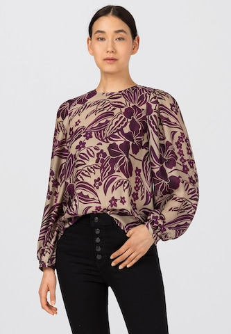 HALLHUBER Bluse in Lila