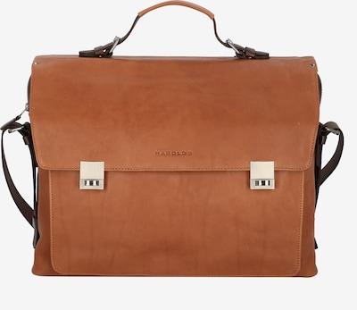 Harold's Ivy Aktentasche Leder 41 cm Laptopfach in cognac, Produktansicht