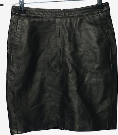 ESPRIT Lederrock in S in schwarz, Produktansicht