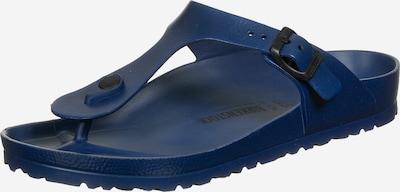 BIRKENSTOCK Séparateur d'orteils 'Gizeh' en bleu marine, Vue avec produit