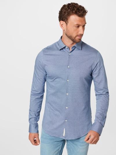SCOTCH & SODA Риза в гълъбово синьо: Изглед отпред