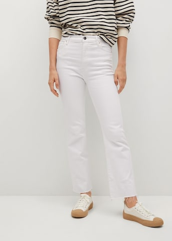 MANGO Jeans 'Sienna' in Wit