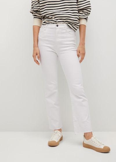 MANGO Jeans 'Sienna' in weiß, Modelansicht