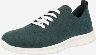 Sneaker low thies pe verde smarald, Vizualizare produs