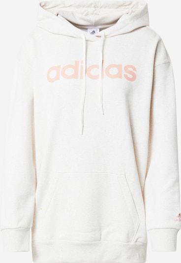 ADIDAS PERFORMANCE Sweatshirt in Peach / Off white, Item view