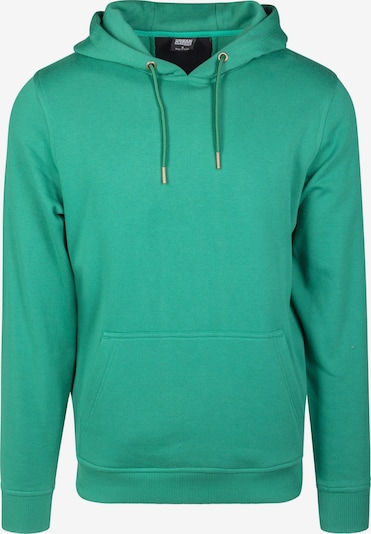 Urban Classics Sweatshirt in jade / feuerrot / schwarz, Produktansicht