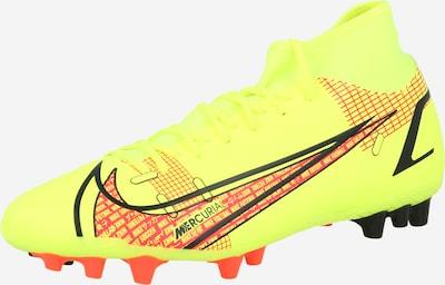 NIKE Voetbalschoen 'Mercurial 8 Academy' in de kleur Neongeel / Rood / Zwart, Productweergave