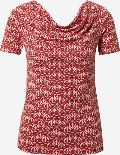 Tranquillo Shirt in dunkelblau / rot / weiß, Produktansicht