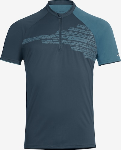 VAUDE T-Shirt in himmelblau / dunkelblau, Produktansicht