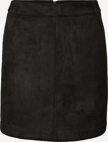 Vero Moda Tall Φούστα 'Donnadina' σε μαύρο