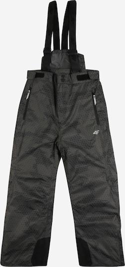 4F Sport-Hose in grau / schwarz, Produktansicht