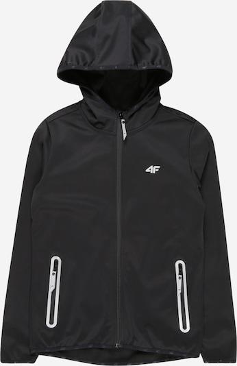 4F Sportjacke in schwarz, Produktansicht