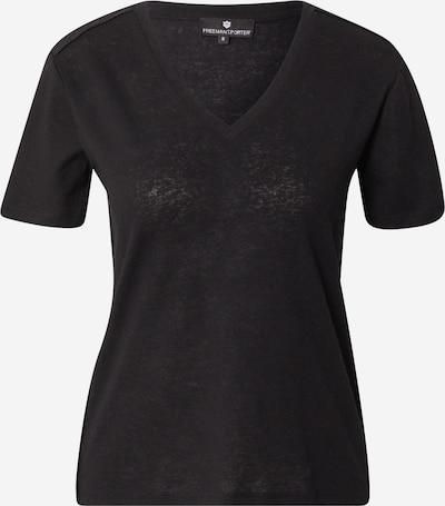 FREEMAN T. PORTER T-Shirt 'Tavie' in schwarz / weiß, Produktansicht