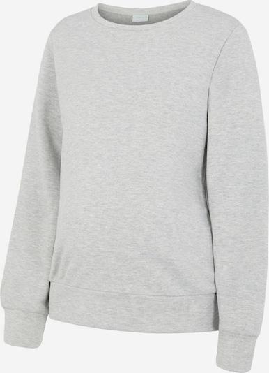 MAMALICIOUS Sweatshirt 'LIOLA' in hellgrau, Produktansicht