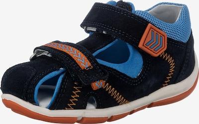 SUPERFIT Otvorene cipele 'Freddy' u mornarsko plava / kraljevsko plava / narančasta, Pregled proizvoda