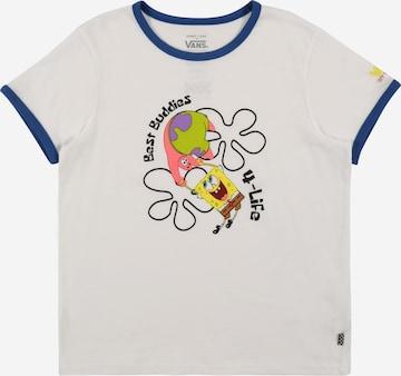 T-Shirt 'SPONGEBOB BEST BUDDIES RINGER' VANS en blanc