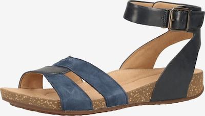 CLARKS Sandalen met riem in de kleur Beige / Navy / Nachtblauw, Productweergave