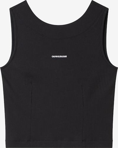 Palaidinė be rankovių iš Calvin Klein Jeans, spalva – juoda / balta, Prekių apžvalga