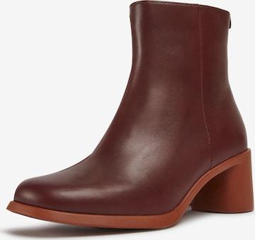 CAMPER Ankle Boots 'Meda' in Red