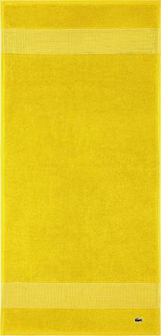 LACOSTE Set 'LE CROCO' in Yellow