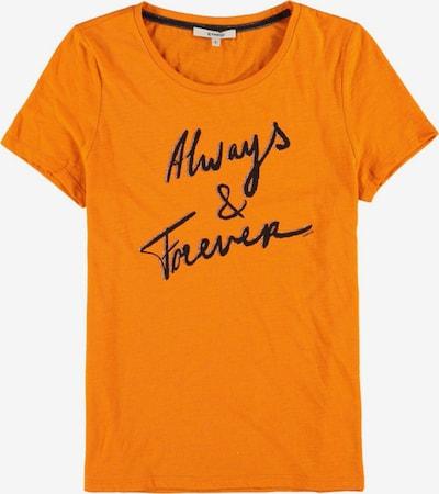 GARCIA T-Shirt in orange / schwarz / silber, Produktansicht