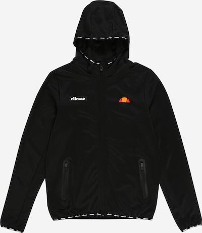 ELLESSE Sweatjacke 'Hypio ' in schwarz, Produktansicht