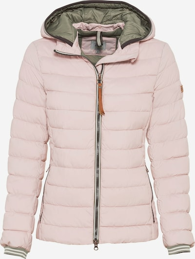 CAMEL ACTIVE Jacke in grau / pastellpink / weiß, Produktansicht