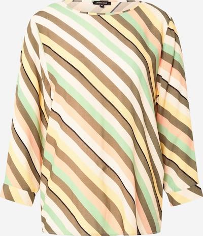 MORE & MORE Bluse in hellblau / braun / rosa, Produktansicht