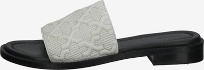 BRONX Pantolette in hellgrau / schwarz, Produktansicht