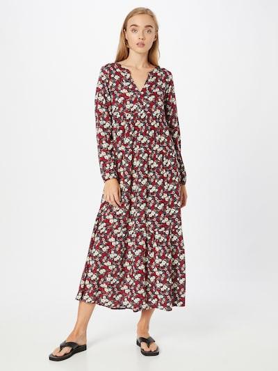 Sublevel Φόρεμα σε μπεζ / κόκκινο / μαύρο / λευκό, Άποψη μοντέλου