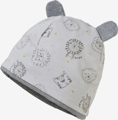 MAXIMO Mütze in senf / hellgrau / schwarz, Produktansicht